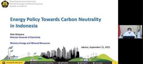 Pemerintah Beberkan Lima Strategi Menuju Net Zero Emissions (NZE)
